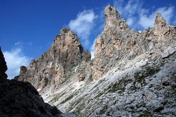 Dolomite's landscape - Col Pradat