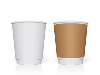 Plastic cup for your design and logo