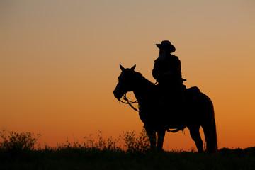 Cowboy Silhouette