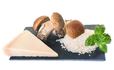 ingredients of risotto