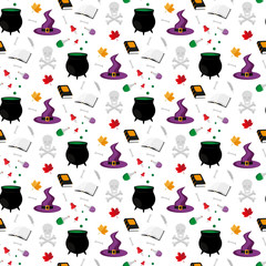 Halloween. Seamless pattern.