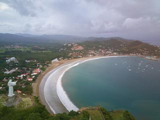 Ocean bay in San Juan Del sur