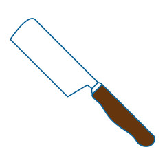 ax kitchen cutlery icon vector illustration design