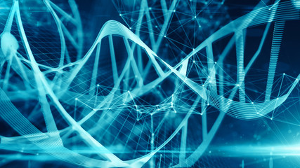 Bio medical biotech research genetic DNA molecules for innovation in vaccine medicine