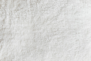 Synthetic fur white texture for the background Wall mural