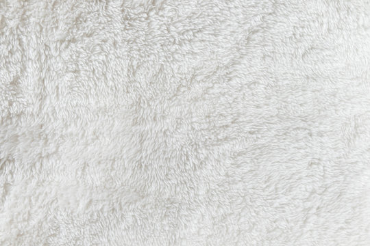 Synthetic fur white texture for the background