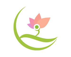 lotus flower flora plants nature icon image vector