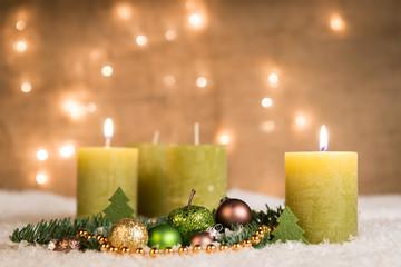 adventsgesteck - zweiter advent