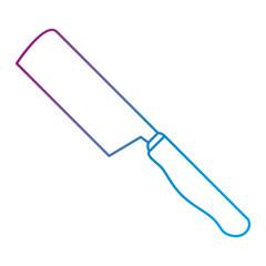 ax kitchen cutlery icon vector illustration design
