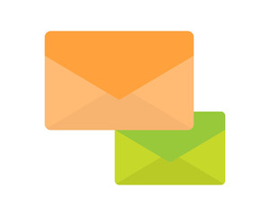 mail message post icon image vector
