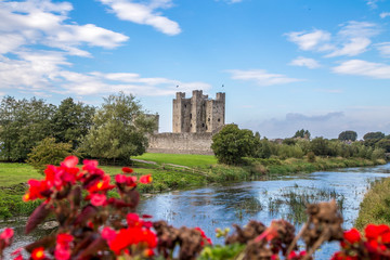 Trim Castle in Trim, County Meath, Ireland