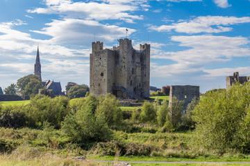 Trim Castle in Trim, County Meath, Ireland