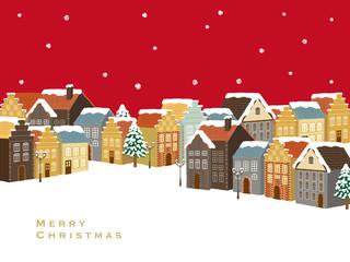 クリスマス 町並み