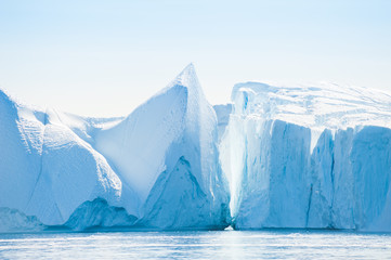 Icebergs in Ilulissat, Greenland