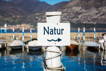 Schild 232 - Natur
