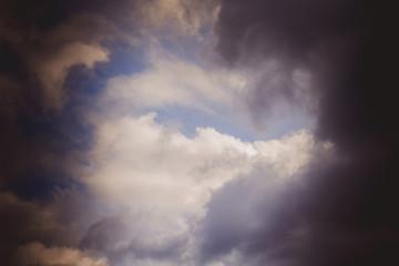Sky and Clouds Retro