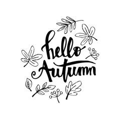 Hello Autumn Card