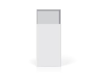 original packaging mock up vector tempate