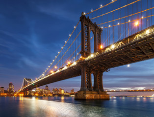 United States, New York City, Manhattan, Lower Manhattan, Manhattan Bridge