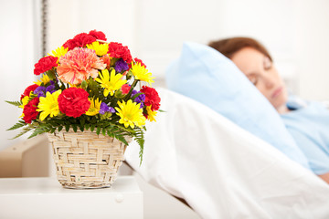 Hospital: Focus on Get Well Bouquet