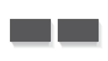 black business card for your design mock up