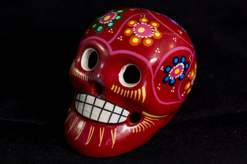 Mexican skull isolated