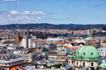 Vienna Capital City Cityscape in Austria