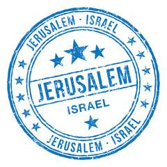 Jerusalem Israel Stamp