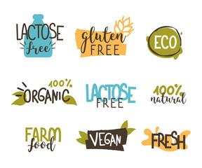 food badges