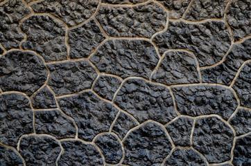 Brick and stone background.