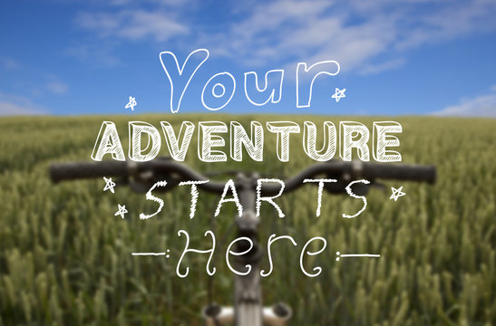 Cycling Adventure Background