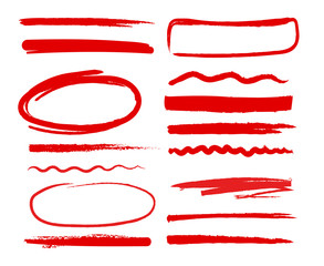 hand drawn shapes