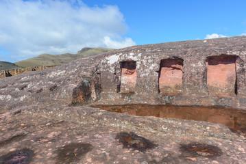 Archaeological site of El Fuerte de Samaipata, Bolivia