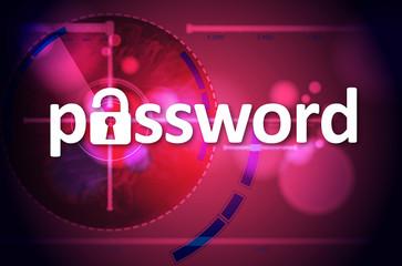 hacked password