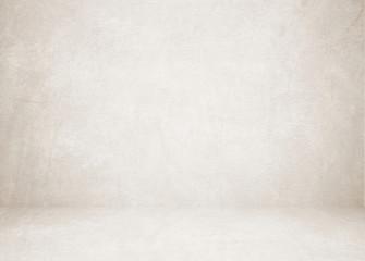 Fotobehang - Empty brown cement room, background, banner, interior design, product display montage, mock up background