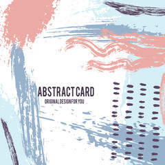 Vector abstract card