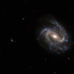 NGC 201 is a barred spiral galaxy in the constellation of Cetus. Elements of this image are furnished by NASA