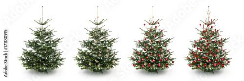 geschm ckter weihnachtsbaum stockfotos und lizenzfreie bilder auf bild 171180915. Black Bedroom Furniture Sets. Home Design Ideas