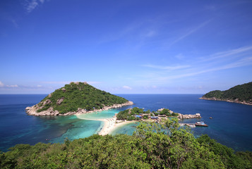 View of Koh Phangan Island in Thailand.