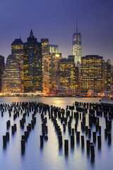 United States, New York City, Manhattan, Brooklyn Bridge, Brooklyn Bridge Park