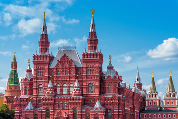 Fototapete - The State Historical Museum in Moscow