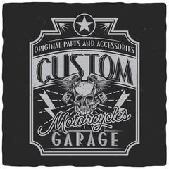 Vintage label design