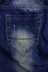 texture of denim blue jeans