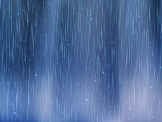 Rain drops background. Rainy weather. Abstract vector Illustration