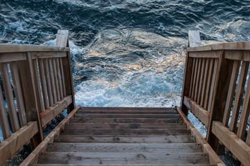 stairway to the ocean