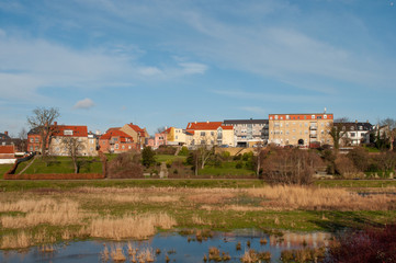 town of Vordingborg in Denmark