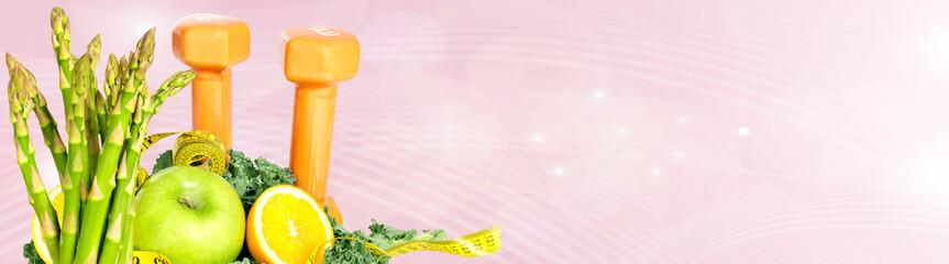 Fototapete - Food background