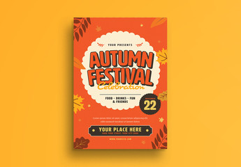 Autumn Festival Flyer Layout 1