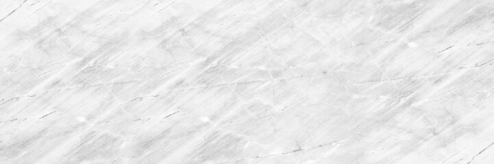 Wall Mural - horizontal elegant white marble texture for pattern and background