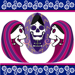 day of the dead three women